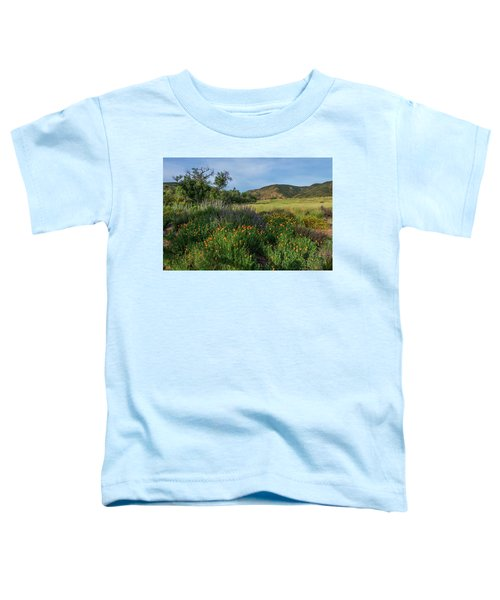 Sleeping Poppies, Mission Trails Toddler T-Shirt