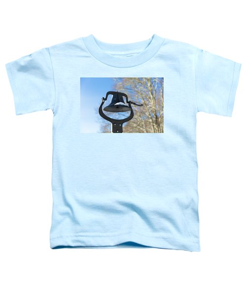 Snow Covered Bell Toddler T-Shirt