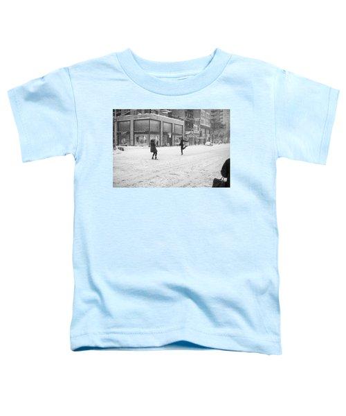 Snow Dance - Le - 10 X 16 Toddler T-Shirt