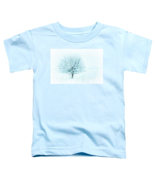 Snow Field Tree Toddler T-Shirt