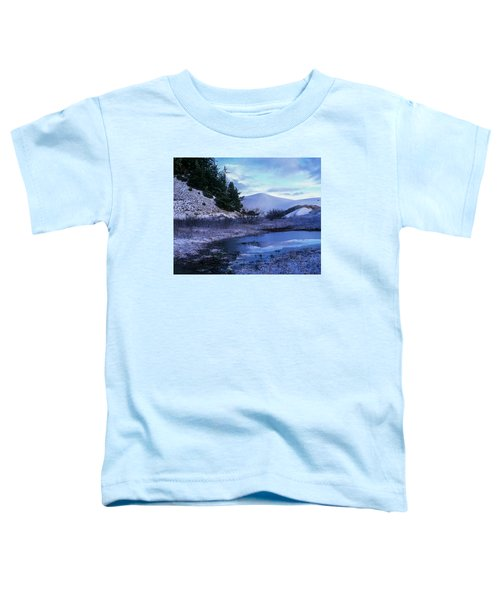Snow On The Sand Toddler T-Shirt
