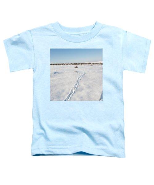 Snow Tracks Toddler T-Shirt