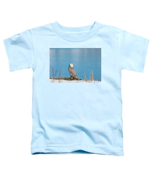 Snowy Watching A Plane Toddler T-Shirt