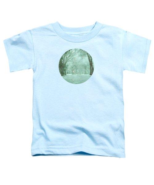 Snowy Winter Night Toddler T-Shirt