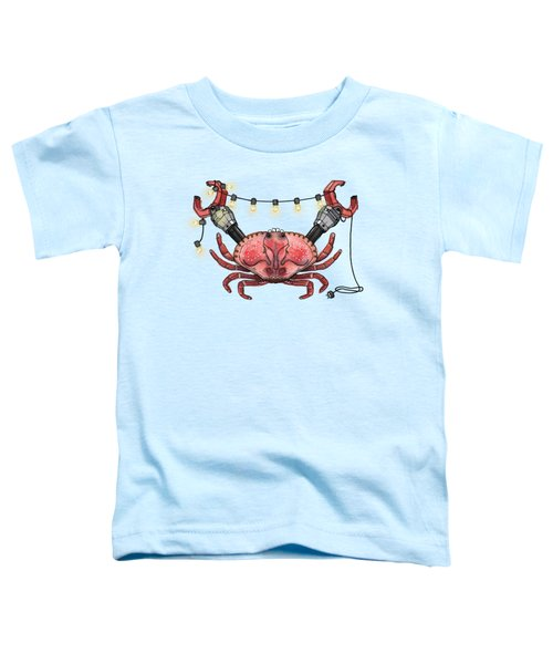 So Crabby Chic Toddler T-Shirt by Kelly Jade King
