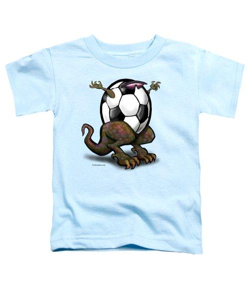 Soccer Saurus Rex Toddler T-Shirt