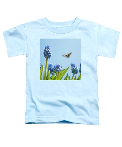 Something In The Air: Peacock Toddler T-Shirt