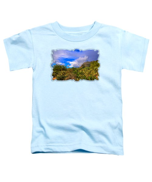 Sonoran Afternoon H11 Toddler T-Shirt by Mark Myhaver