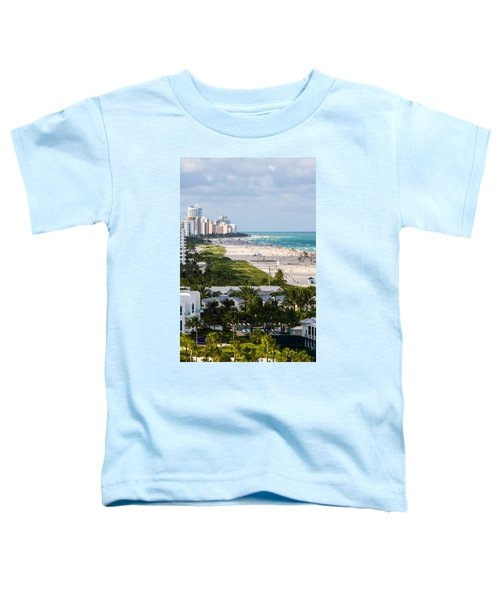 South Beach Late Afternoon Toddler T-Shirt