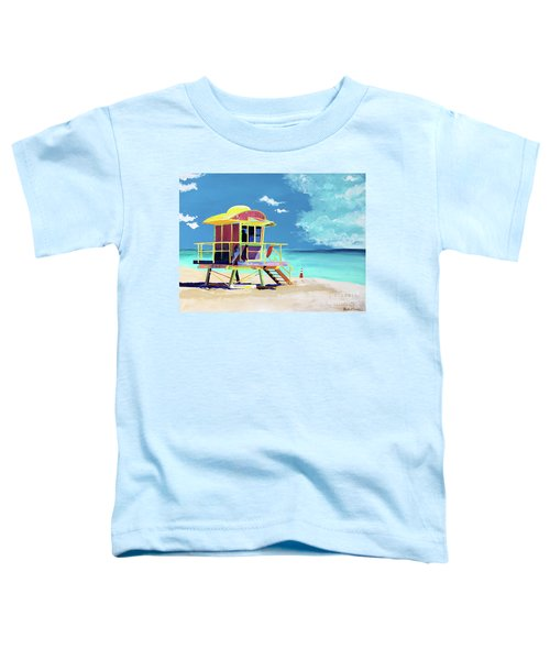 South Beach Toddler T-Shirt