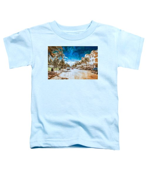 South Beach Road Toddler T-Shirt