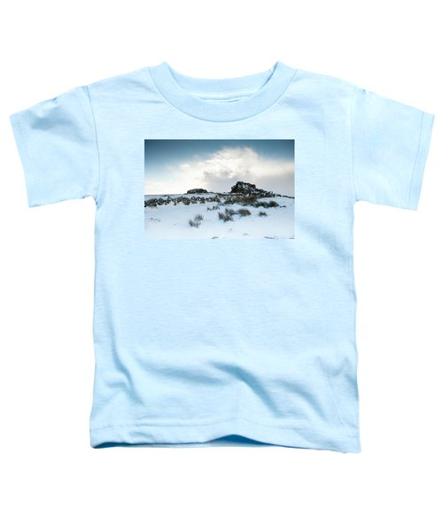 South Hessary Tor In The Snow II Toddler T-Shirt