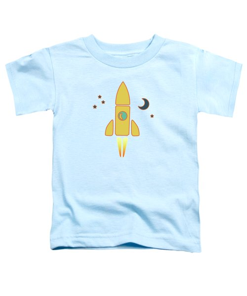 Spaceship Toddler T-Shirt