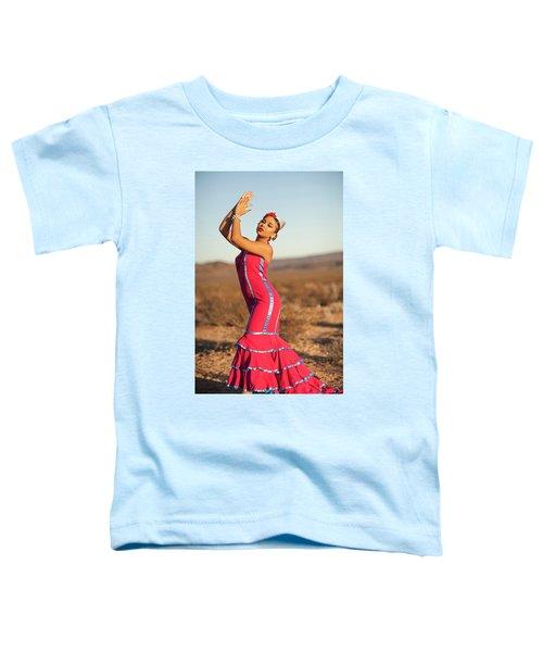 Spanish Dancer Toddler T-Shirt