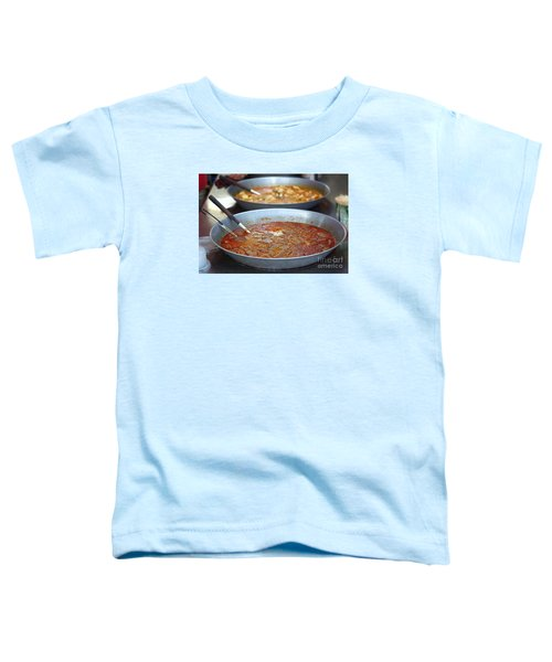 Spicy Duck Blood Soup Toddler T-Shirt