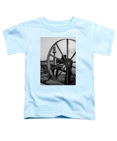 Spinning Wheel At Mount Vernon Toddler T-Shirt