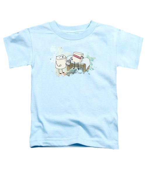 Spoonful Of Sugar Words Illustrated  Toddler T-Shirt
