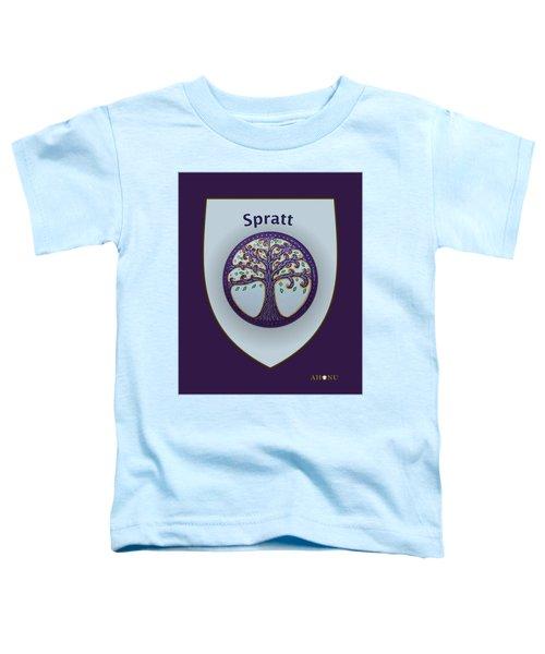 Spratt Family Crest Toddler T-Shirt