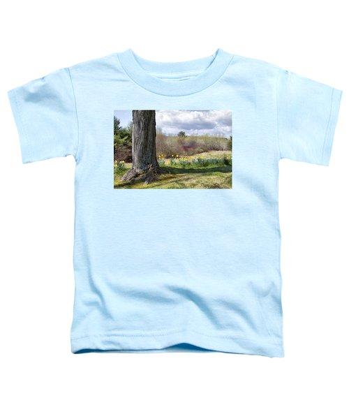 Spring Daffodils  Toddler T-Shirt