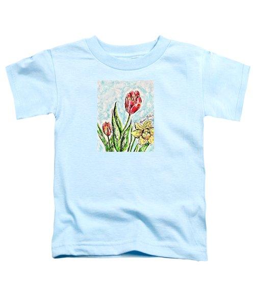 Spring Flowers Toddler T-Shirt