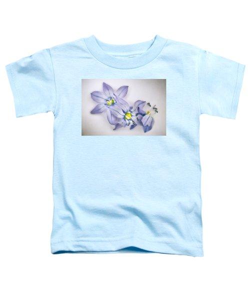 Spring Flowers On White Toddler T-Shirt