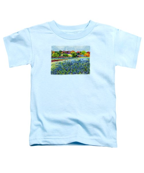 Spring Impressions Toddler T-Shirt by Hailey E Herrera