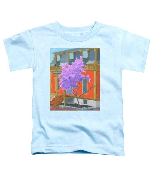 Spring In Pink And Orange Toddler T-Shirt