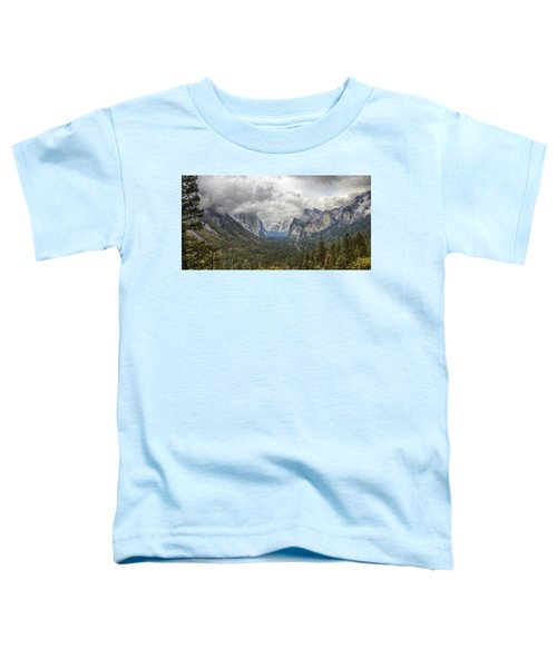 Spring Storm Yosemite Toddler T-Shirt