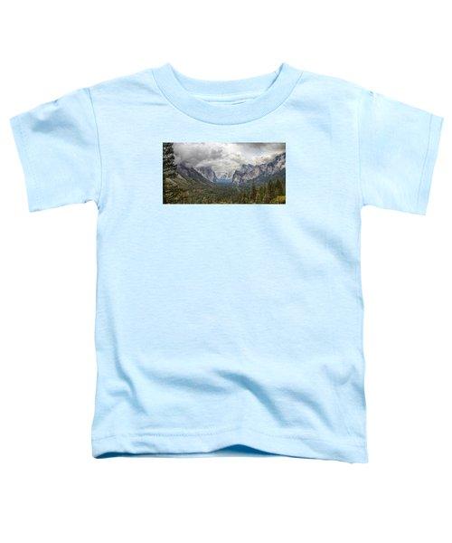 Spring Storm Yosemite Toddler T-Shirt