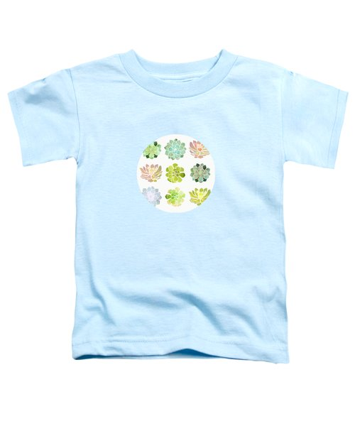 Spring Succulents Toddler T-Shirt
