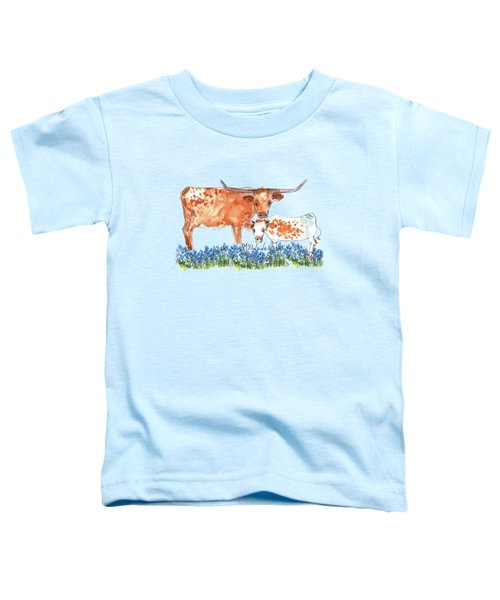 Springs Surprise Watercolor Painting By Kmcelwaine Toddler T-Shirt