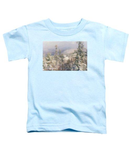 Spruce Peak Summit At Sunday River Toddler T-Shirt