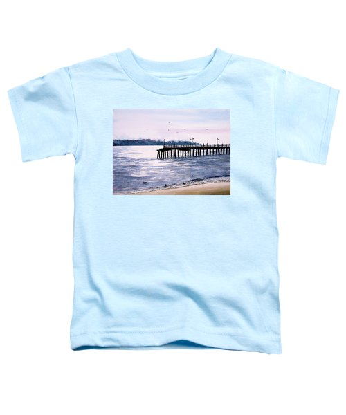 St. Simons Island Fishing Pier Toddler T-Shirt