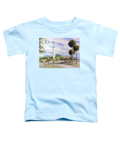 St. Simons Island Lighthouse Toddler T-Shirt