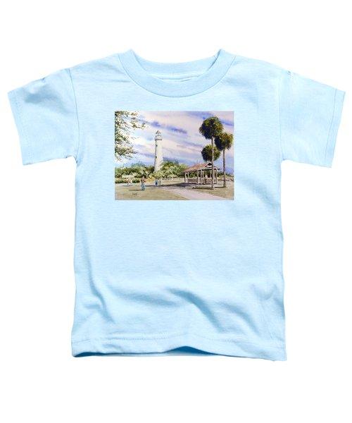 St. Simons Island Lighthouse Toddler T-Shirt