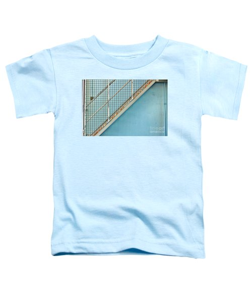 Stairs On Blue Wall Toddler T-Shirt