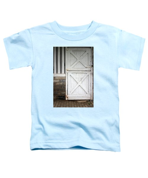 Star Barn Door Toddler T-Shirt