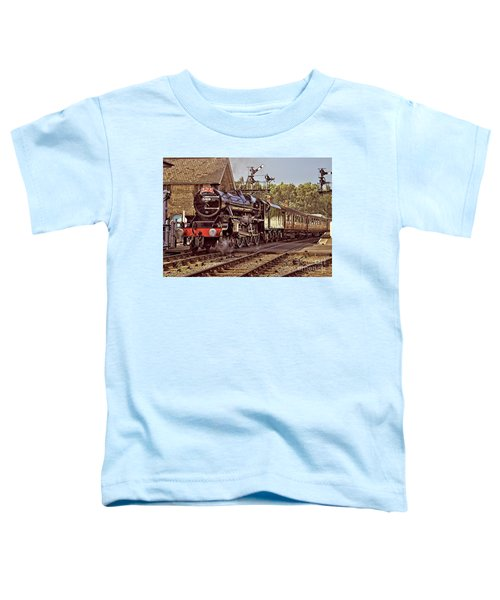 Steam Loco On Yorkshire Railway Toddler T-Shirt