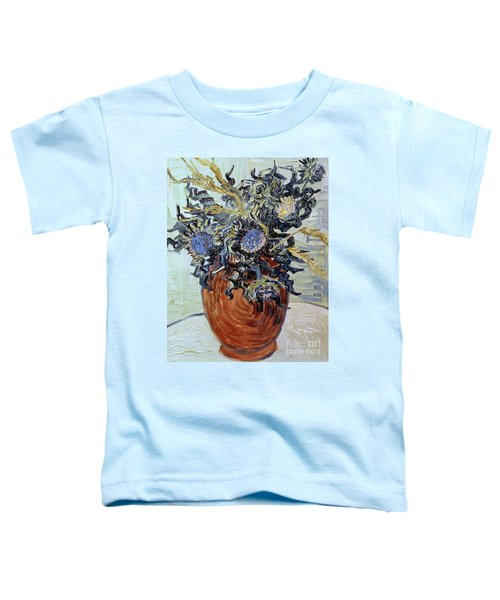 Still Life With Thistles Toddler T-Shirt
