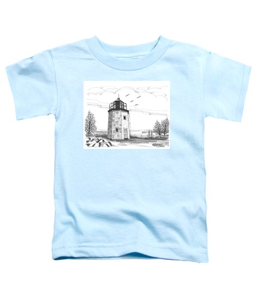 Stony Point Lighthouse Toddler T-Shirt