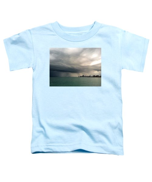 Storms Over Chicago Toddler T-Shirt
