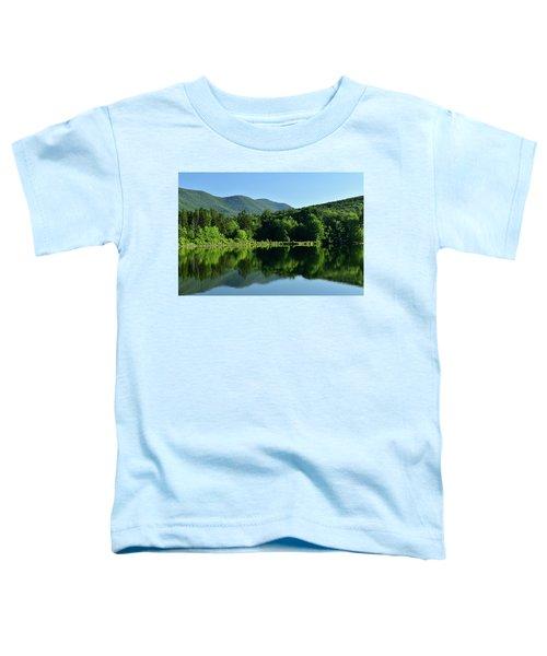 Streak Of Light At The Lake Toddler T-Shirt