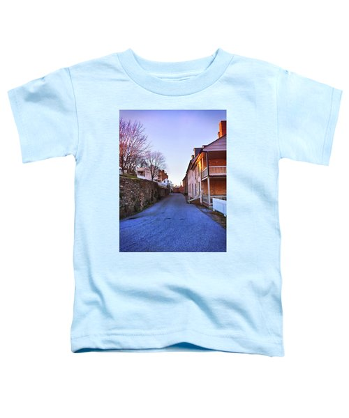 Streets Of Harpers Ferry Toddler T-Shirt
