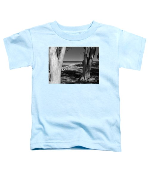 Study In Black And White Toddler T-Shirt