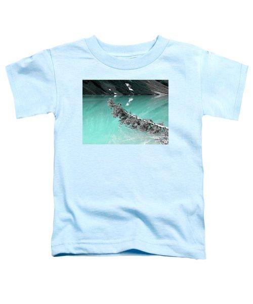 Stunning Turquoise Glacial Lake Toddler T-Shirt
