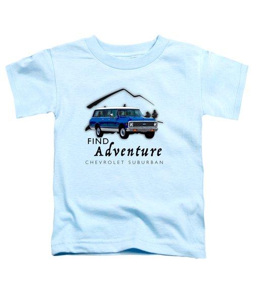 Suburban Adventure Toddler T-Shirt