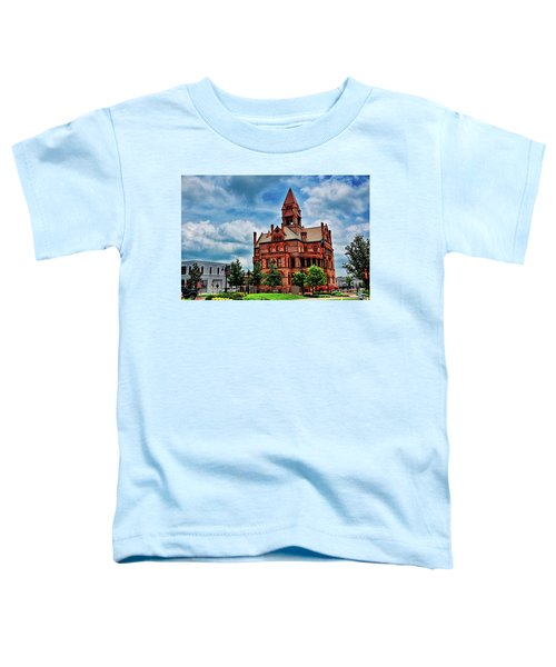 Sulphur Springs Courthouse Toddler T-Shirt