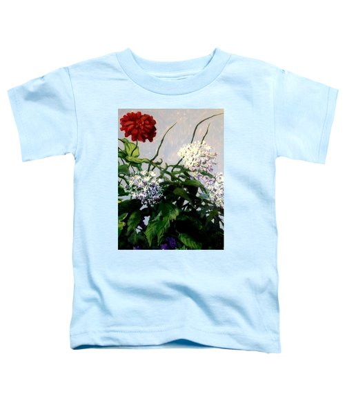 Summer Flowers 1 Toddler T-Shirt