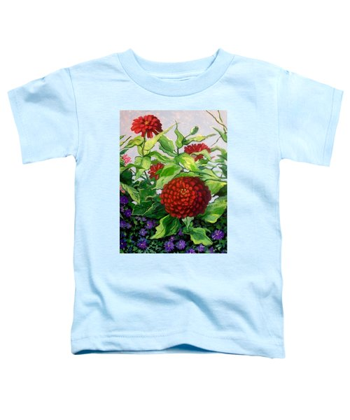 Summer Flowers 3 Toddler T-Shirt