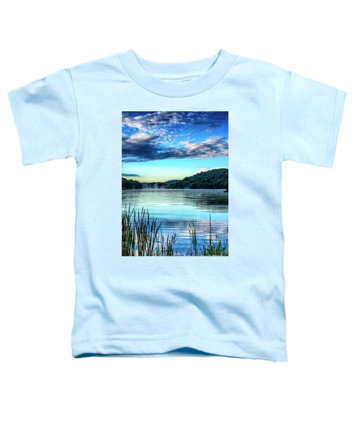 Summer Morning On The Lake Toddler T-Shirt